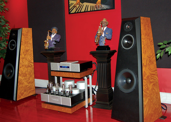 The complete Aurum Acoustics system